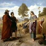 Руфь моавитянка, прабабка царя Давида. Проблемы неполной семьи