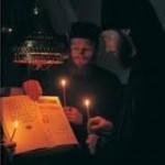 Литургия свт. Иоанна Златоуста. Хор братии Валаамского монастыря