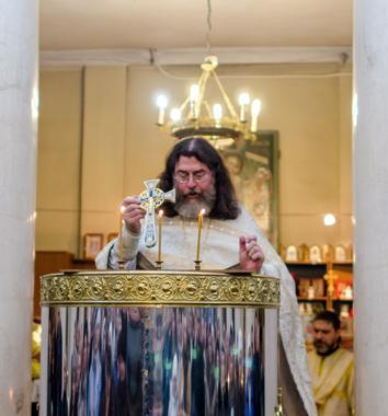 Паремии на водоосвящении праздника Святого Богоявления