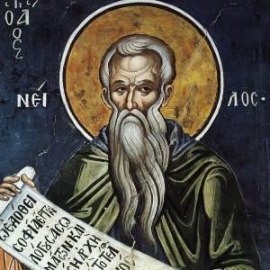 Преподобного Нила, подвижника Синайского, слово о молитве