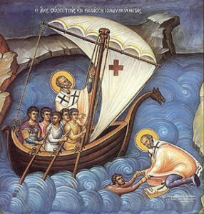 圣尼古拉救人