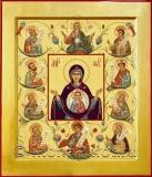 Икона Богородицы «Зна́мение» Курская-Коренная