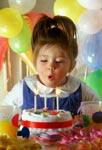 Отмечаем День рождения (1-3 года)