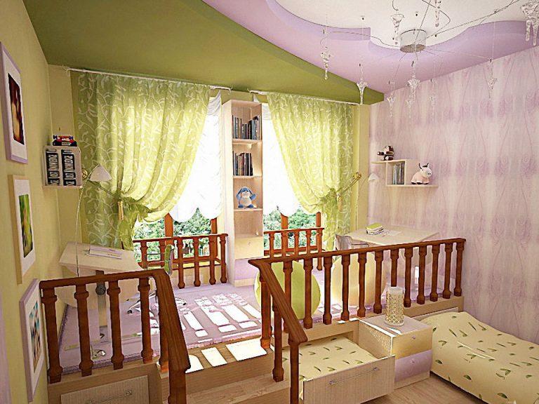 Подиум кровать в детскую