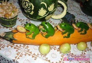 veg47 300x205 - Поделки из овощей и фруктов