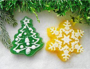 mylo v novogodnem stile 300x231 - Новогодние ёлочные игрушки своими руками