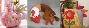 podushka petushok 300x95 - Новогодние ёлочные игрушки своими руками