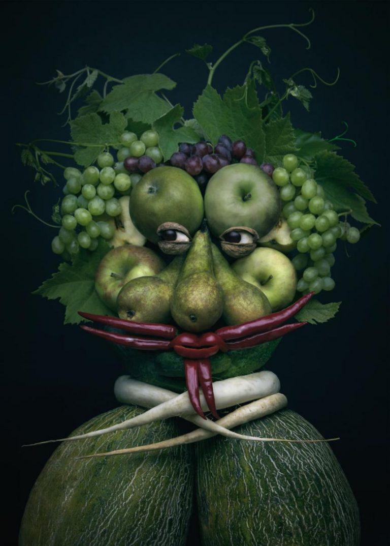 картинки из фруктов лицо пары осталось
