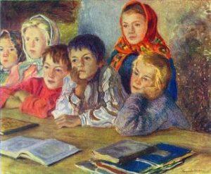 Bogdanov Belskiy Deti na uroke 320x263 300x247 - Как написать сочинение. Школьный помощник