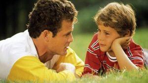 razgovor otca s sunom 300x170 - Воспитание сына – как вырастить настоящего мужчину?