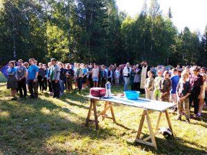 Lager.Moleben 300x225 - О. Никита Заболотнов: как правильно организовать летний лагерь?