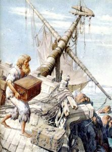 c0a03a570ff0a2019390b7c578e66eda 221x300 - «Робинзон Крузо»: блудный сын пускается в плавание