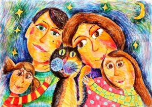 3c8c64506bb54efe9e0d05dff862935b 300x212 - Как пережить режим самоизоляции многодетной семье