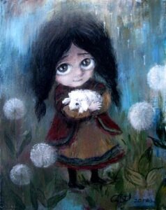 418458 original 238x300 - Ангелы Нино: живопись как паломничество в детство