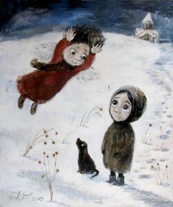 420587 original 251x300 - Ангелы Нино: живопись как паломничество в детство