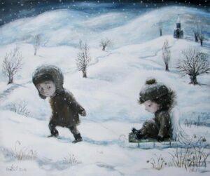 427142 original 300x251 - Ангелы Нино: живопись как паломничество в детство