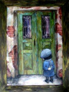 428026 original 225x300 - Ангелы Нино: живопись как паломничество в детство