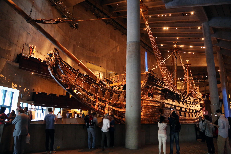Картинки по запросу Музей парусного корабля «Ваcа»