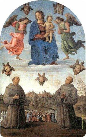 Рис. 13. Пьетро Перуджино - Богоматерь Справедливость, 1501 г., Перуджа.jpg