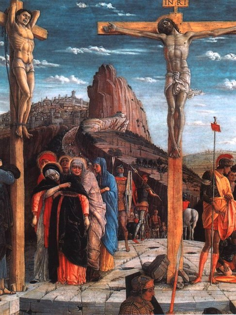 Рис. 15. Андреа Мантенья - Распятие (фрагмент), 1457-1460 гг..jpg