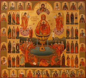 Икона Пресвятой Богородицы «Живоносный источник»