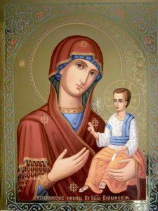 Икона Богородицы Волынская