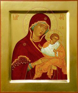 Икона Богородицы Коневская