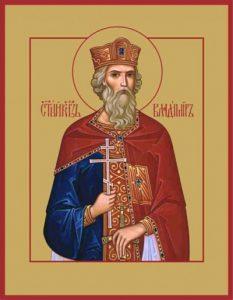 Равноапостольный Владимир (в Крещении Василий), великий князь