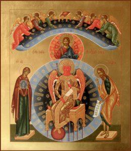 Икона Богородицы София – Премудрость Божия (Новгородская)