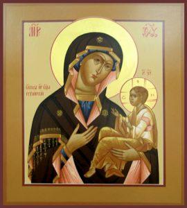 Икона Богородицы Грузинская