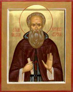 Преподобный Алекса́ндр Свирский