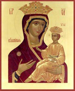 Икона Богородицы «Всеблаженная»