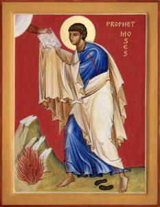 Пророк Моисей Боговидец
