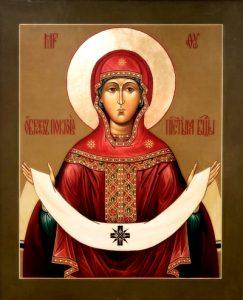 Икона Богородицы Покров Пресвятой Богородицы