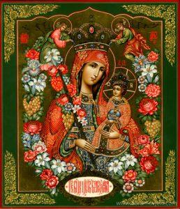 Икона Богородицы «Благоуханный Цвет»
