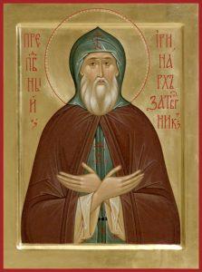 Преподобный Ирина́рх Ростовский
