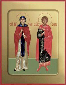 Мученики и бессребреники Кир и Иоанн Александрийские