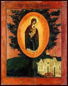 Икона Богородицы Елецкая-Черниговская