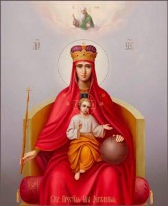 Икона Богородицы «Державная»