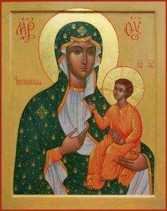 Икона Богородицы Ченстоховская