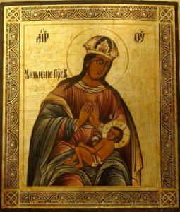 Икона Богородицы Умиление Смоленская