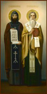 Равноапостольные Мефодий Моравский, архиепископ, Кирилл (Константин) Философ