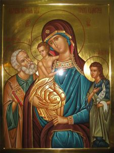 Икона Богородицы «Трех Радостей»