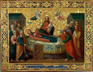 Икона Богородицы «Успение» Киево-Печерская