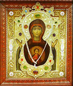 Икона Богородицы Знамение Корчемная