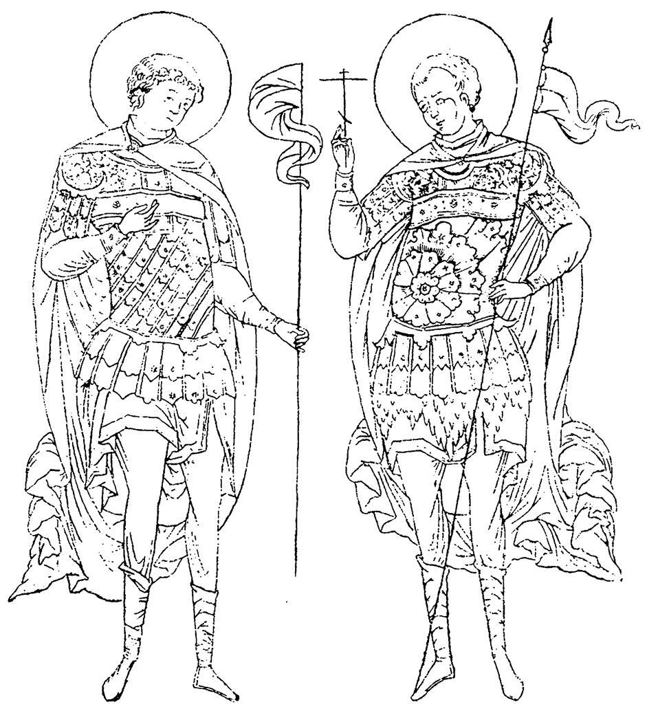 раскраска святые воины витальевич оказывает услуги