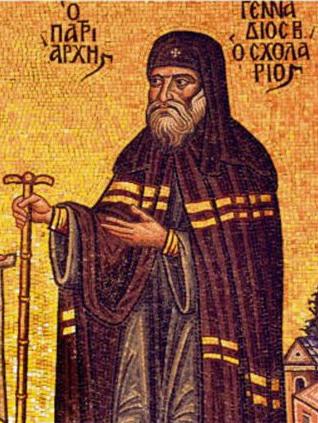 святитель Геннадий Схоларий, патриарх Константинопольский