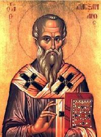 святитель Александр Александрийский