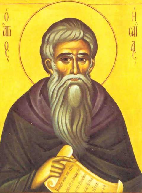 преподобный авва Исайя (Скитский), отшельник