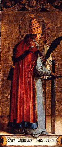 святитель Корнелий, папа Римский